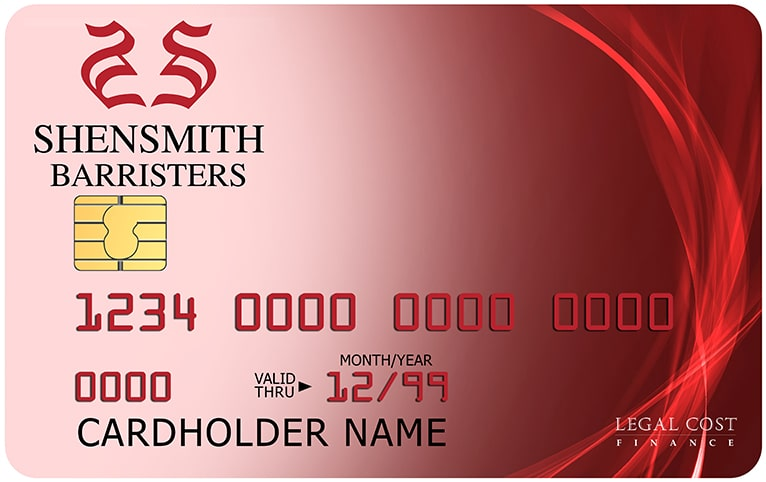 Shensmith Barristers - Litigation Financing